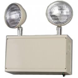 Siltron em62 series steel emergency light for Exterior emergency exit lights