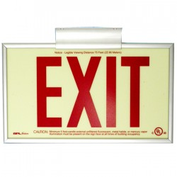 Siltron™ LXN Series Photoluminescent Exit Sign