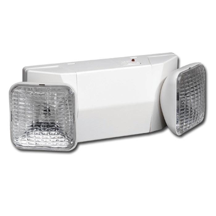 Safety Light Fixtures : Siltron™ em series plastic emergency light