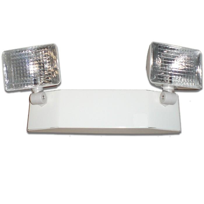 Safety Light Fixtures : Siltron™ em series steel emergency light commercial