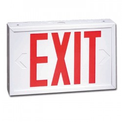 Siltron™ WXL Series Steel LED Exit Sign