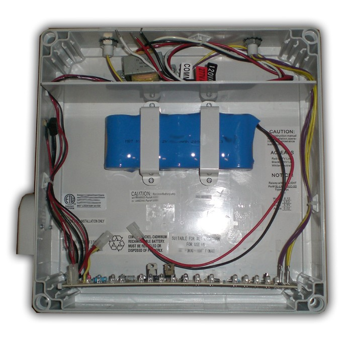 siltron™ wlx series wet location nema led exit sign special use Class 2 Wiring wlx wet location exit sign internals